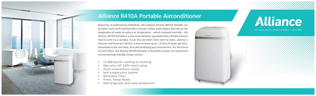 Alliance Portable air conditioners Pretoria
