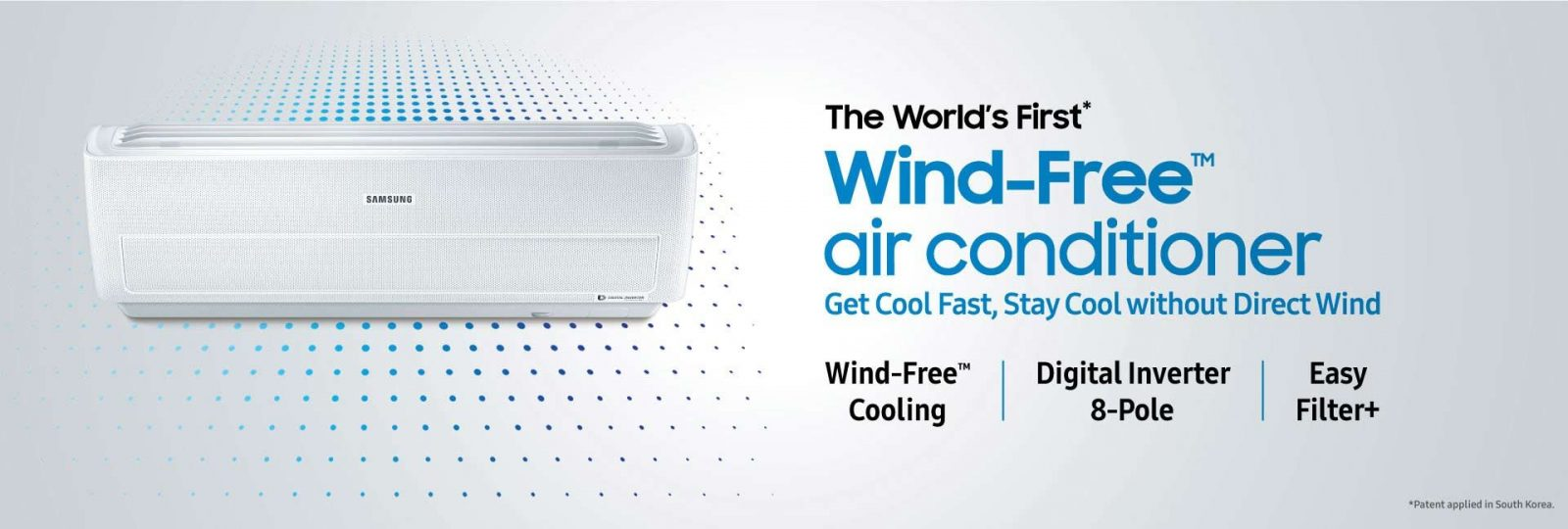 Samsung Air Conditioning Banner