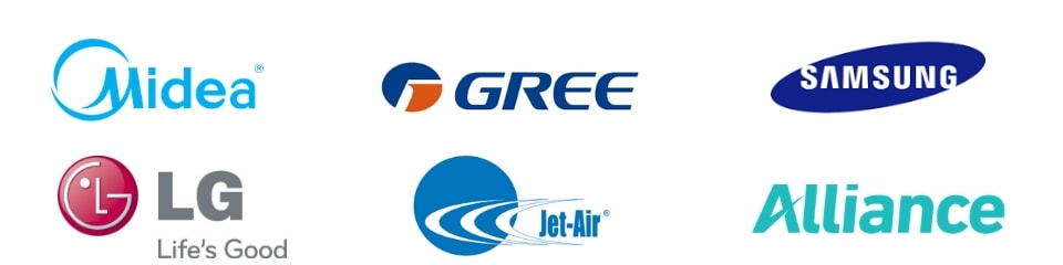 Air Conditioner Brands Banner