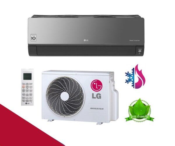 LG Artcool Black Inverter Air Conditioner Prices