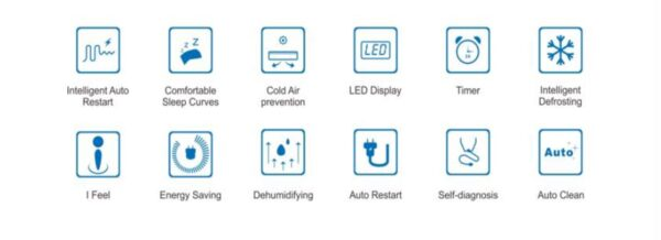 Jet-Air Air Conditioner Functions